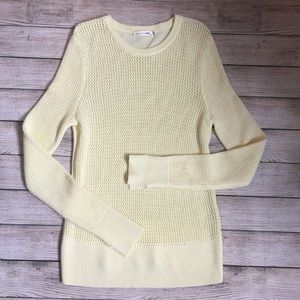 Rag & Bone Pale Yellow Knit Long Sleeve